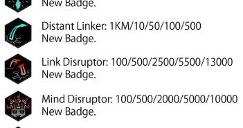 new badges