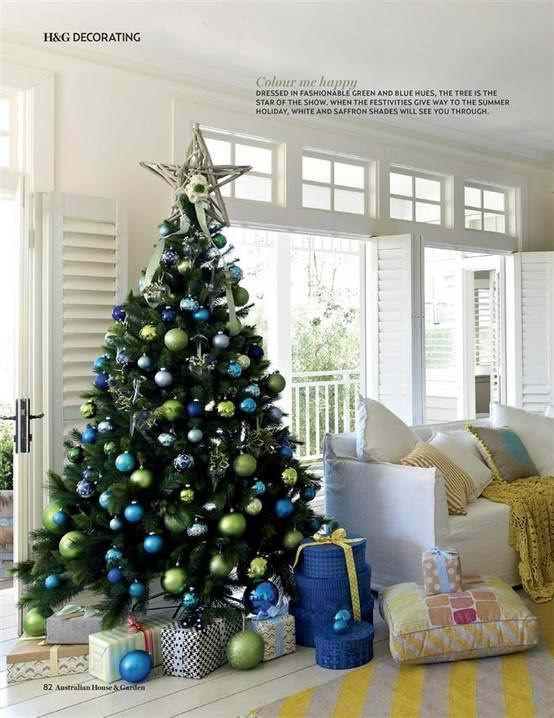 37 Inspiring Christmas Tree Decorating Ideas   Decoholic christmas tree decorating ideas 22