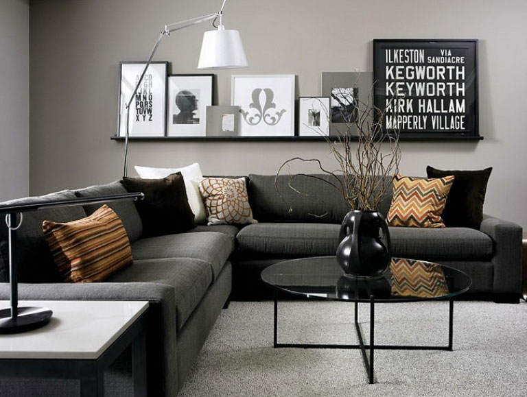 69 Fabulous Gray Living Room Designs To Inspire You   Decoholic gray living room design 9 ideas