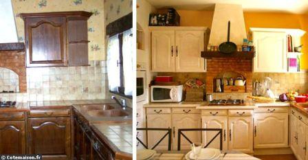 10 trucs pour r nover et d corer mini prix rajeunir sa for Peindre sa cuisine en blanc