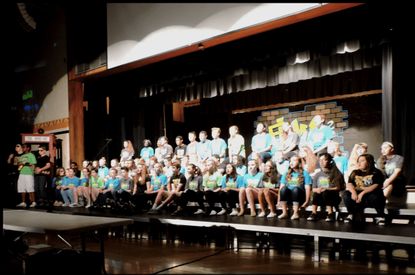 PL Singers at 2015 Awards Assembly