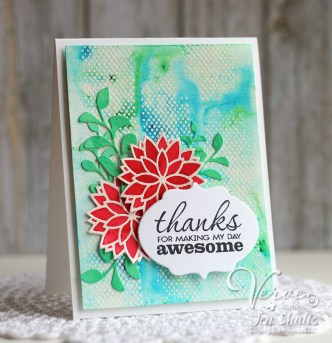 Thanks For Making My Day Awesome by Jen Shults