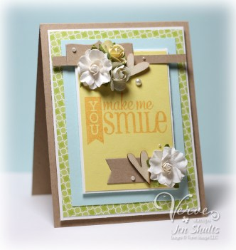 You Make Me Smile by Jen Shults