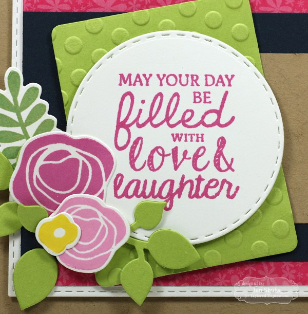 Filled with Love, handmade card by Jen Shults