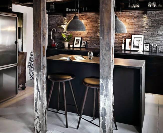 Una cocina con mucha personalidad decoracion in for Estructura de una cocina industrial