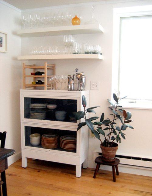 C mo decorar la cocina con baldas y estantes decoracion in - Baldas para cocina ...