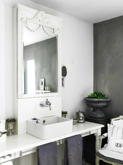 ideas para decorar baños delicados