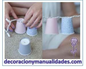 decoracion con materilaes reciclados