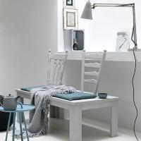 Cómo reutilizar unas sillas antiguas de madera