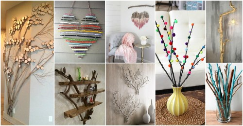 Fantastic Diy Tree Branches Home Decor Ideas Diy Home Decor Ideas Diy Home Decor Projects