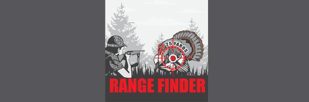 Range Finder for Turkey Hunting