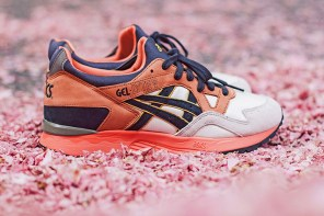 UBIQ X ASICS « MIDNIGHT BLOOM »