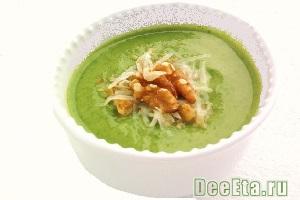 Как приготовить суп - пюре из зеленой фасоли и брокколи