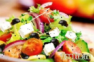 Салат «Бонапарт»  с сыром и помидорами
