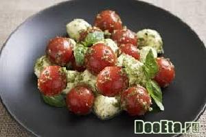 Закуска из помидоров «Томаты в соусе бальзамик»