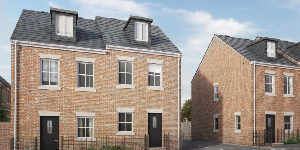 Residential CGI for Auty Square, Morley