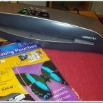 Fellowes smART Attack Laminator Challenge – Christmas Placemats