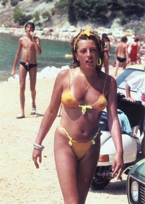 Sexy Bikini In The Summer Of 1985, Split Croatia