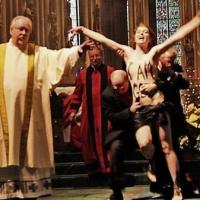Topless Protester Fined for Christmas Church Service Disruption