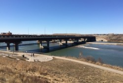 Saskatchewan riverとCircle drive