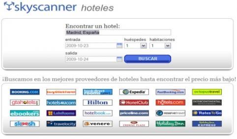 Búsqueda de hoteles