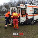 Elicopter SMURD femeie arsuri Osorhel (1)
