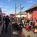 Accident grav Reteag DN17 resuscitare (1)