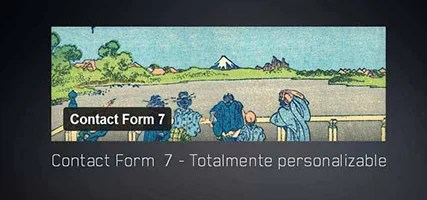 Contact Form  7 – Totalmente personalizable