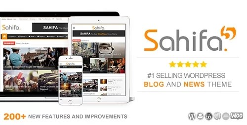 ThemeForest – Sahifa v5.3.0 – Responsive WordPress News, Magazine, Blog Theme