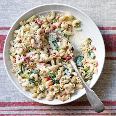 Paula Deen's Warm Macaroni Salad