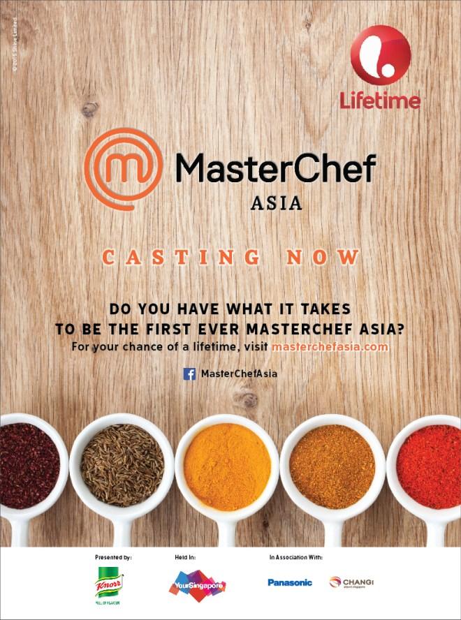 Casting MasterChef ASIA dibuka!!!