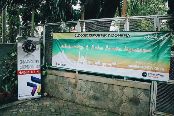 Buka Bersama Blogger Reporter Indonesia