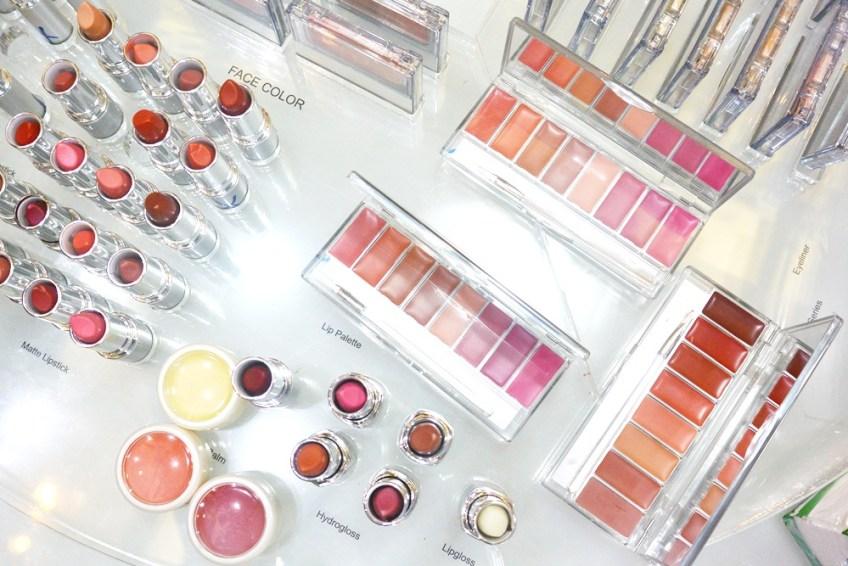 lipstick wardah at Indonesian Fashion week