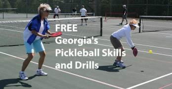 FREE Georgia's Pickleball Skills and Drills