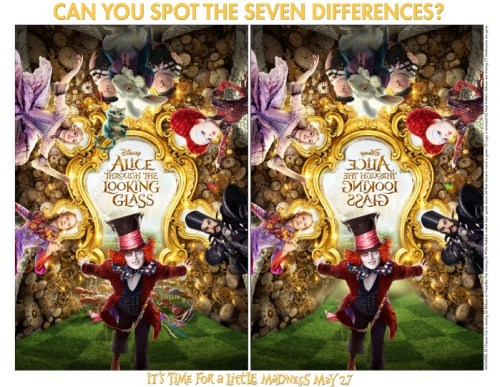 Alice Through the Looking Glass printable