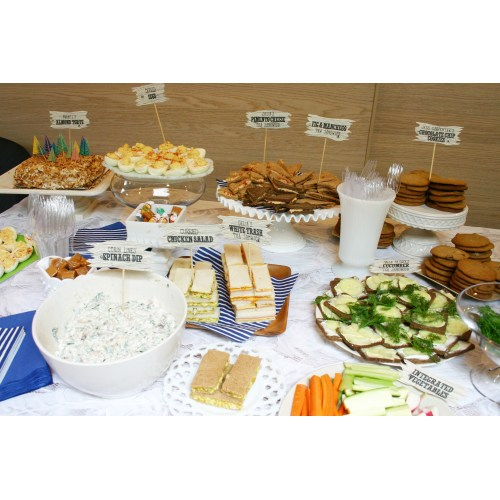 Medium Crop Of Baby Shower Food