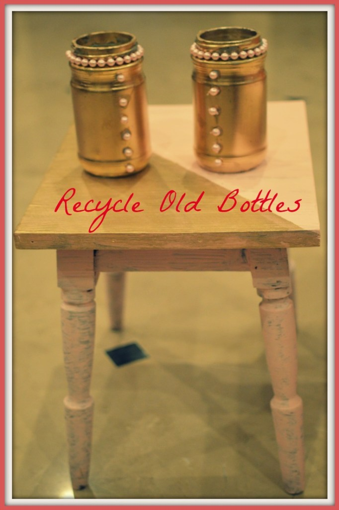 Recycled Old Bottles