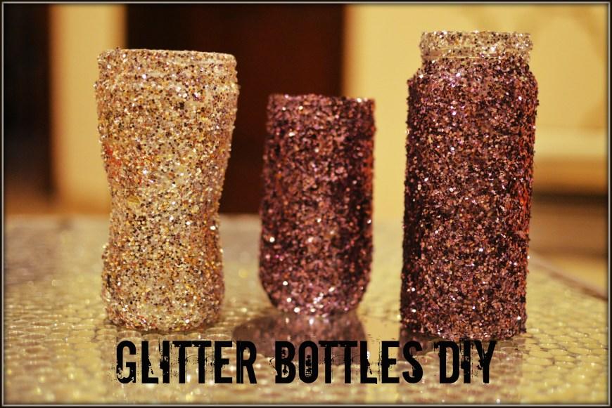Cute Glitter Jars DIY