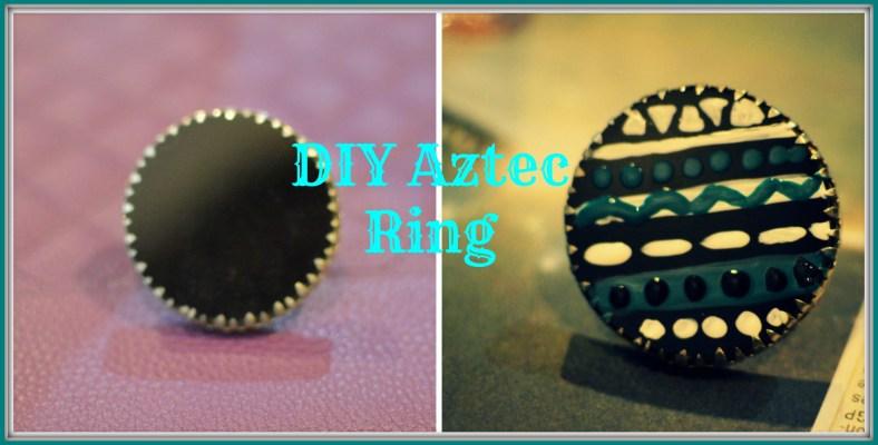 DIY Aztec Ring