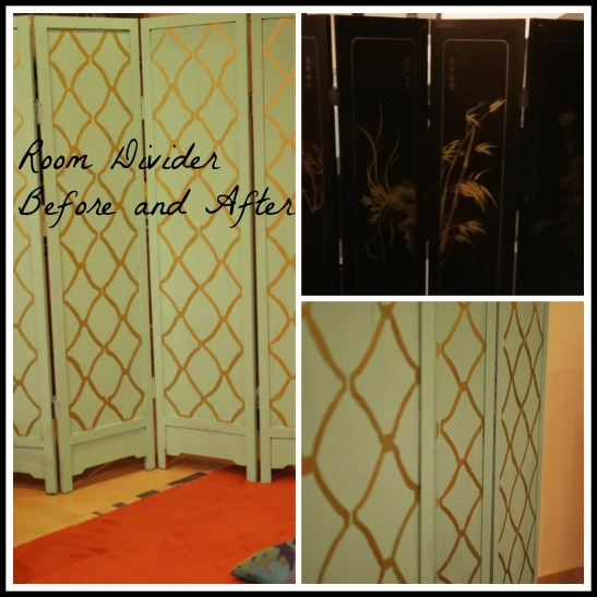 Room Divider Before and After