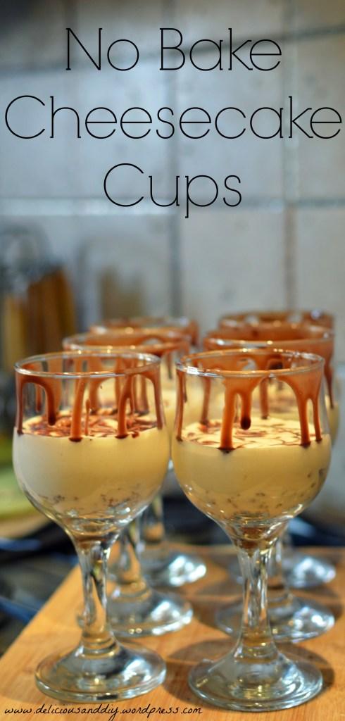 no bake cheesecake cups