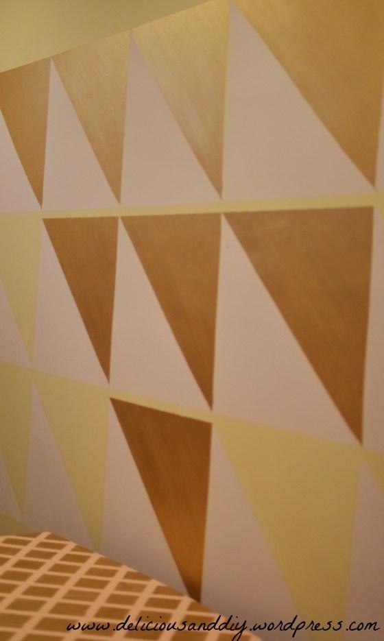 diagonal wall design