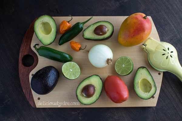 mango habanero guacamole