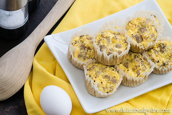 egg & turkey muffins