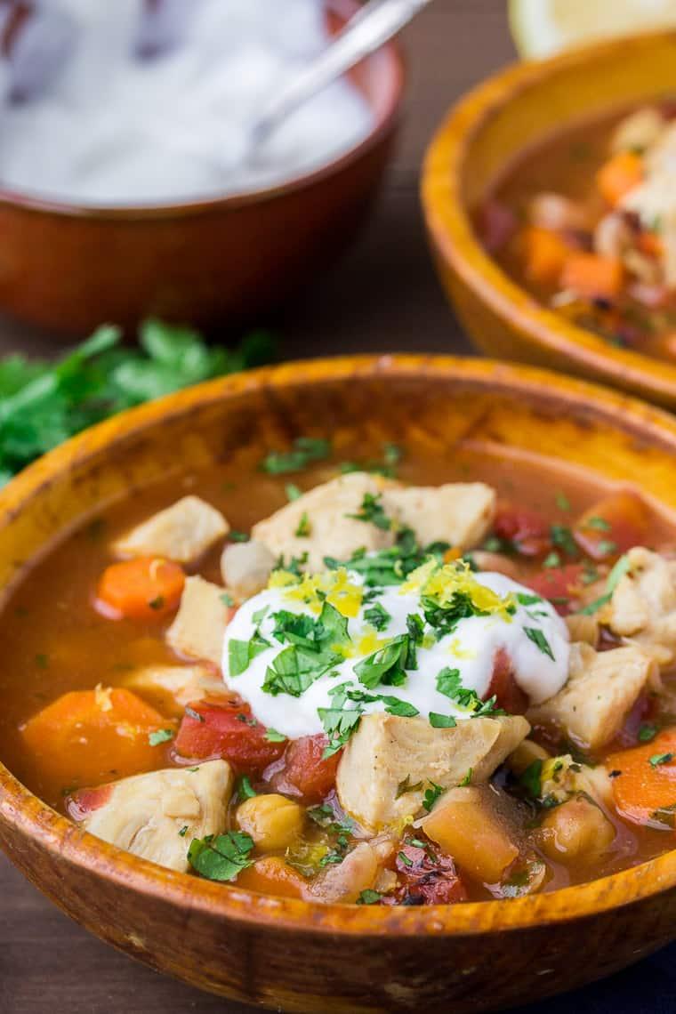 Decent Moroccan Inspired Ken Stew An Orange Wooden Bowl Moroccan Inspired Ken Stew Delicious Little Bites Moroccan Ken Stew Jamie Oliver Moroccan Ken Stew Instant Pot nice food Moroccan Chicken Stew