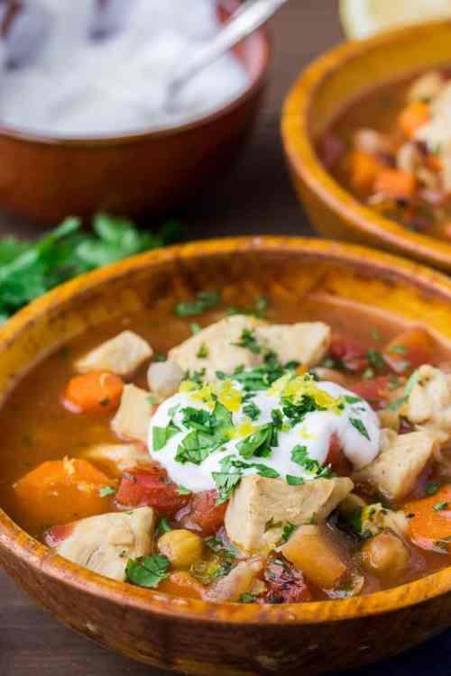 Medium Of Moroccan Chicken Stew