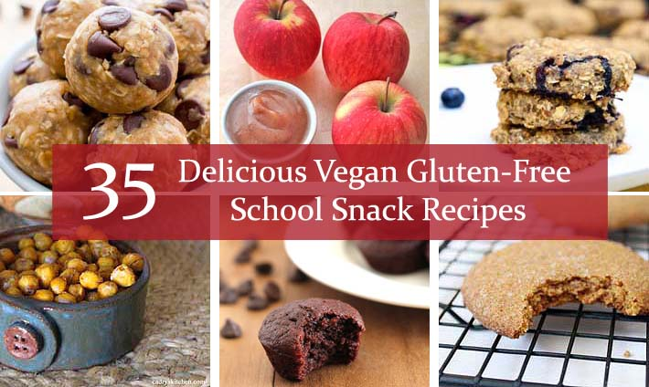 35 Delicious Vegan Gluten-Free School Snack Recipes
