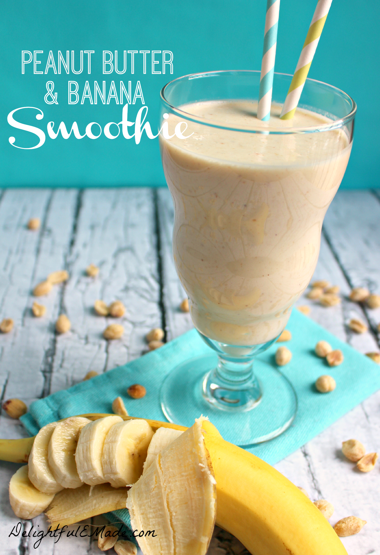 Tremendous Peanut Butter Banana Smoothie By Delightfulemade Peanut Butter Banana Smoothie Delightful E Made Peanut Butter Smoothie Healthy Peanut Butter Smoothie Bowl nice food Peanut Butter Smoothie