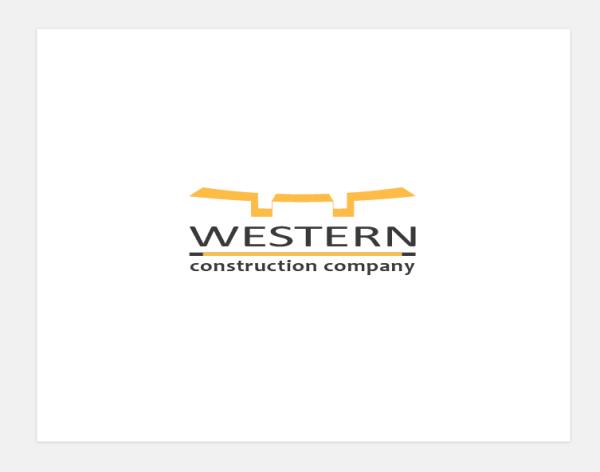 Логотип для строительной компании «Western»