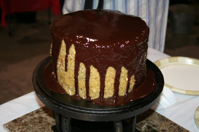 Dutch Oven Cake - Photograph by Robert Love (prepared by someone else)